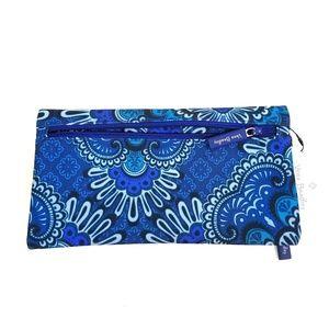 Vera Bradley | Royal blue Tapestry Pencil pouch